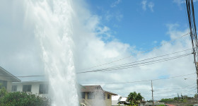 Another Day, Another Water Main Break in Honolulu