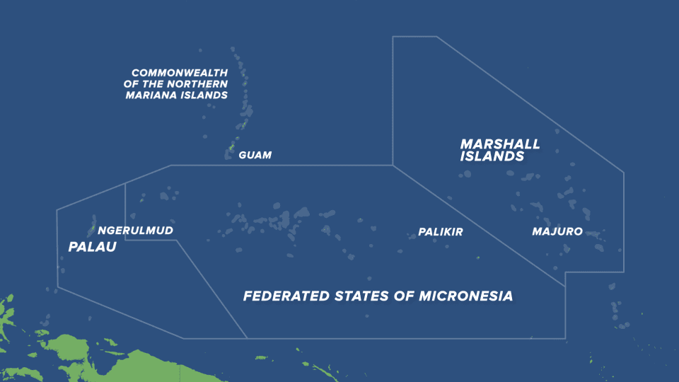 US Ramps Up Attention On Micronesia To Curb China's Expanding Influence