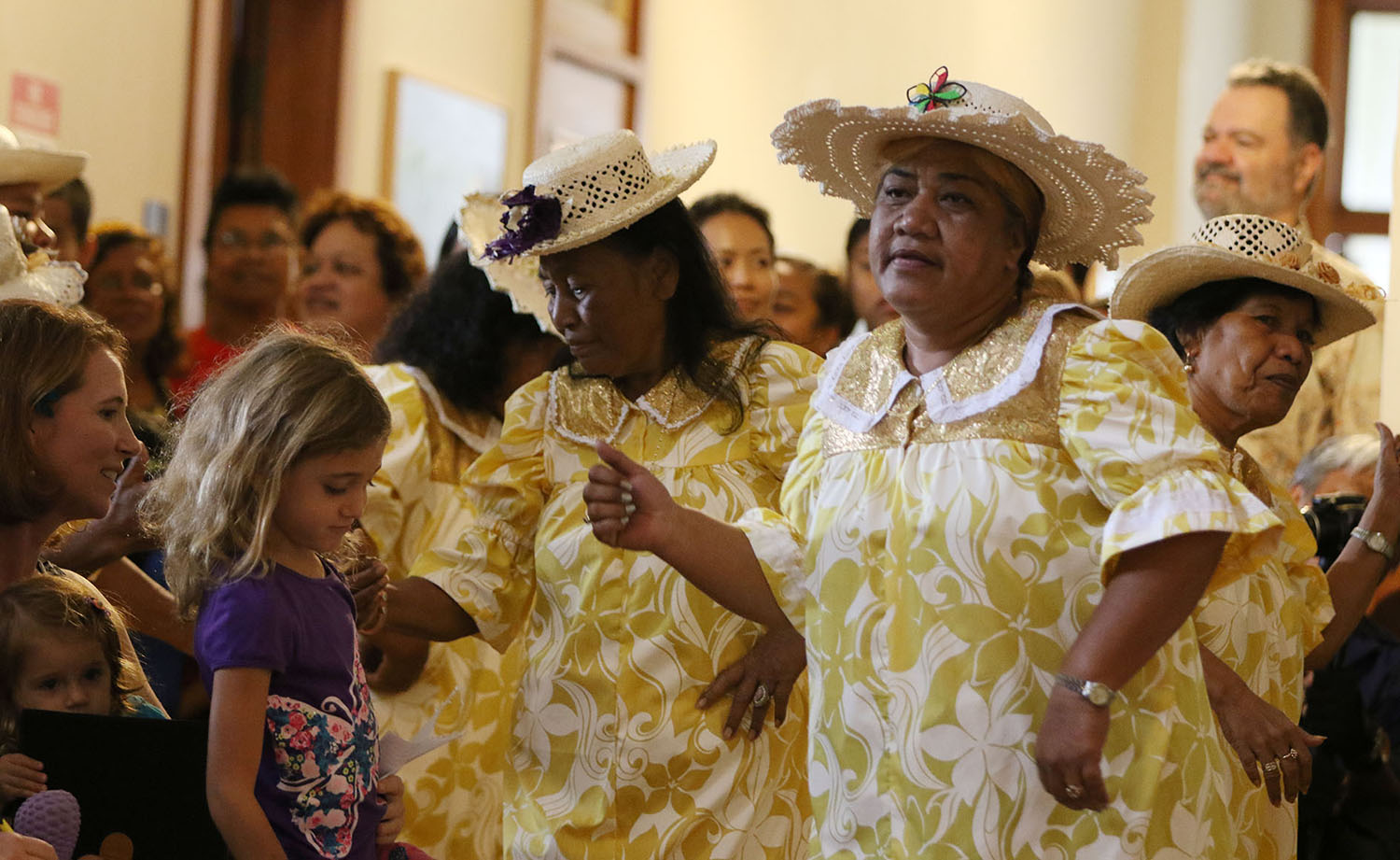 "<p>The Lale Dron Dance Group brought an elegant touch to ""Celebrate Micronesia.""</p>"