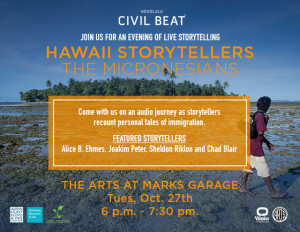 Join Us Oct. 27 for a Micronesia Storytelling Event