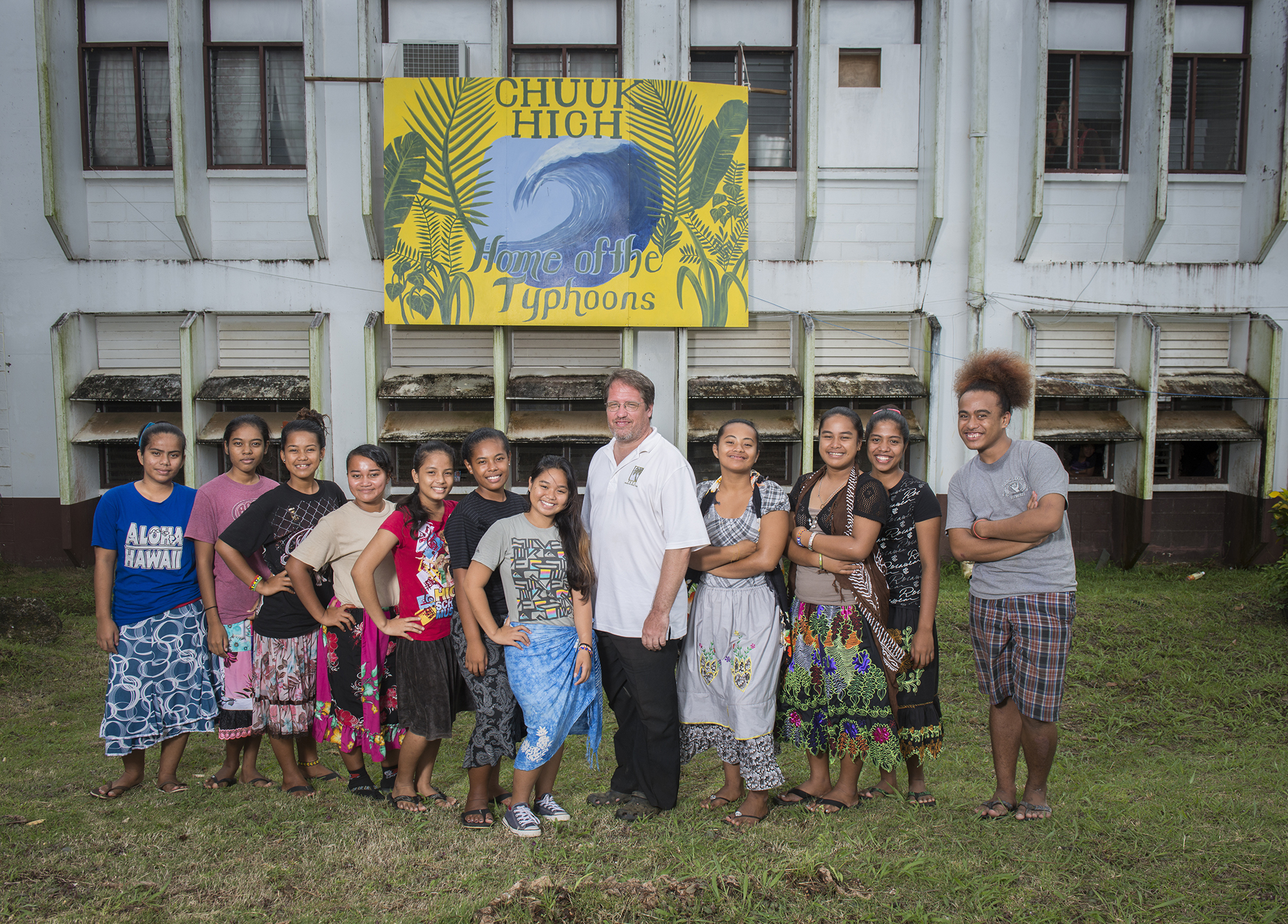 <p>Chuuk High School Principal Paul Hadik tries to stretch limited financial resources from the government to educate his students. The school recently opened a kindergarten program.</p>