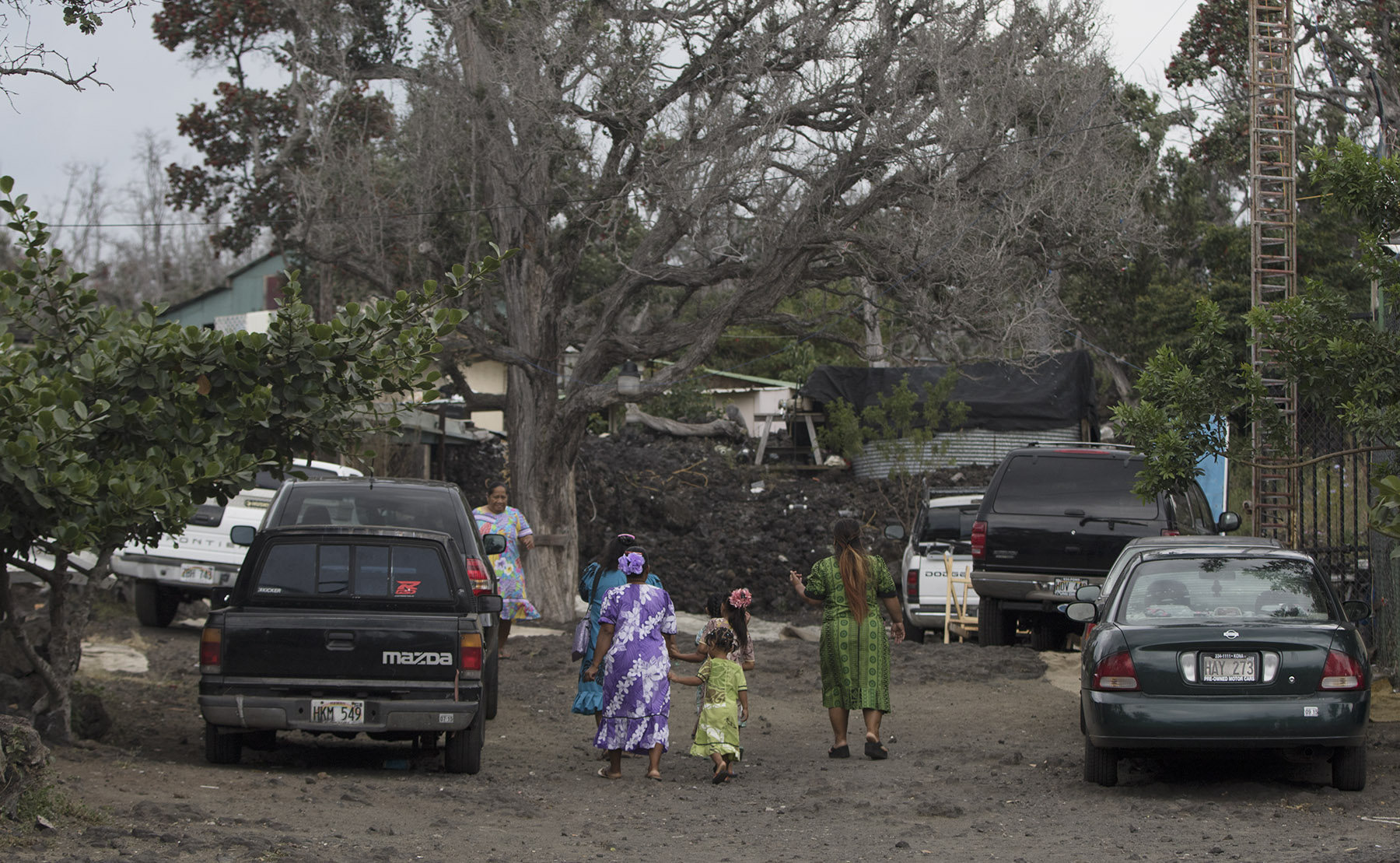 <p>Hundreds of Marshallese live in or near Jackson's compound on the Big Island.</p> <p></p>