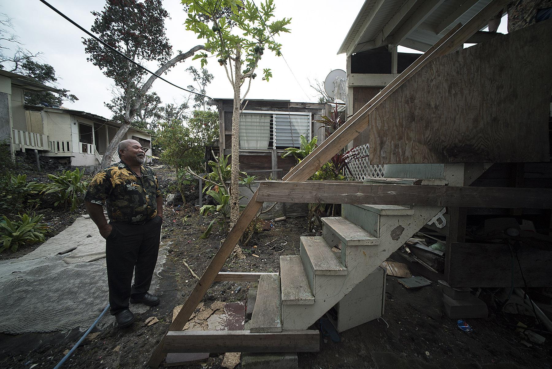 <p>Jackson has built a small community at Hawaiian Ocean View Estates on the Big Island.</p>
