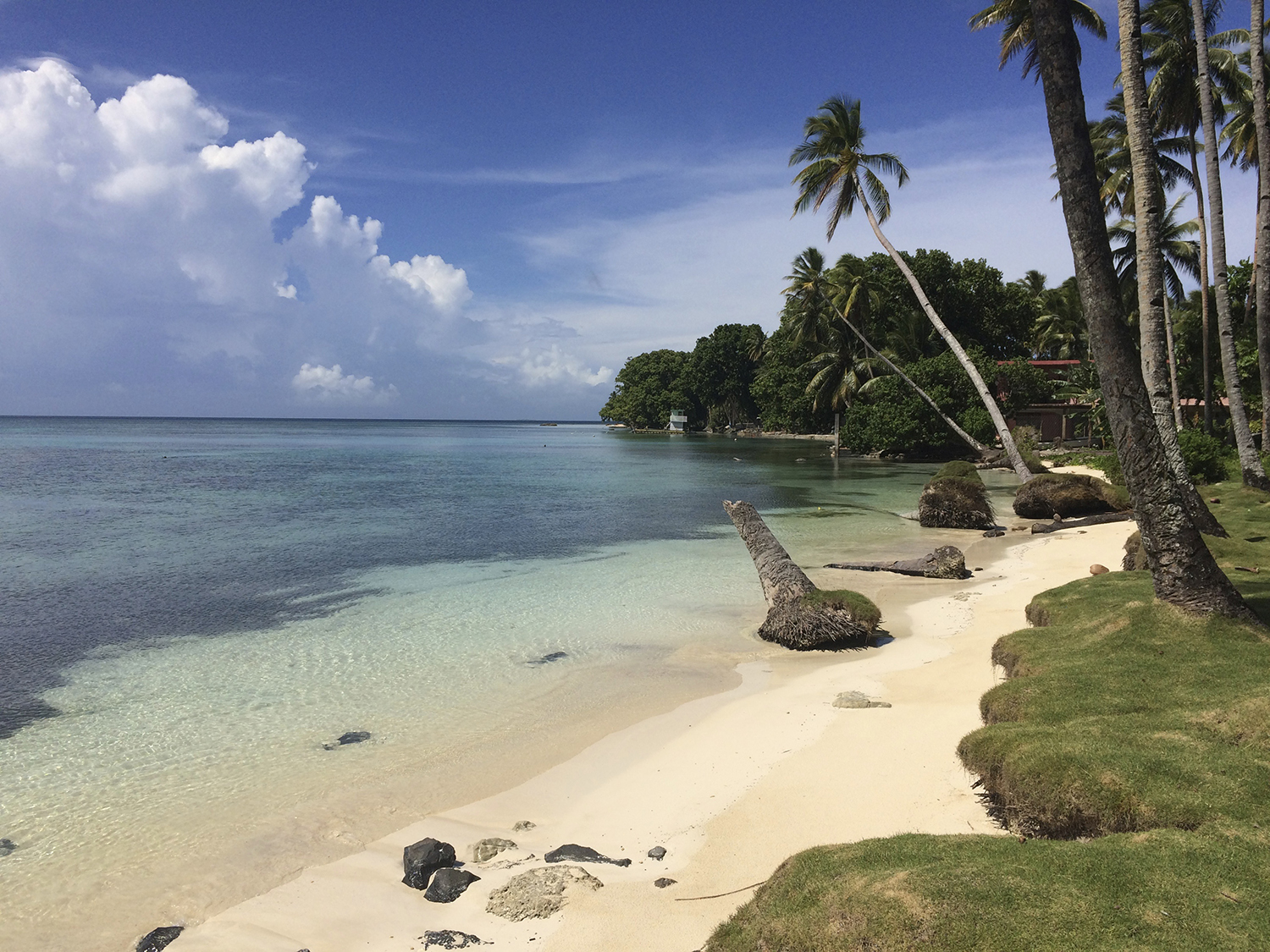 <p>The Blue Lagoon Resort is in a gated compound at the southern tip of Weno, and the most popular dive sites are a short boat ride away.</p>