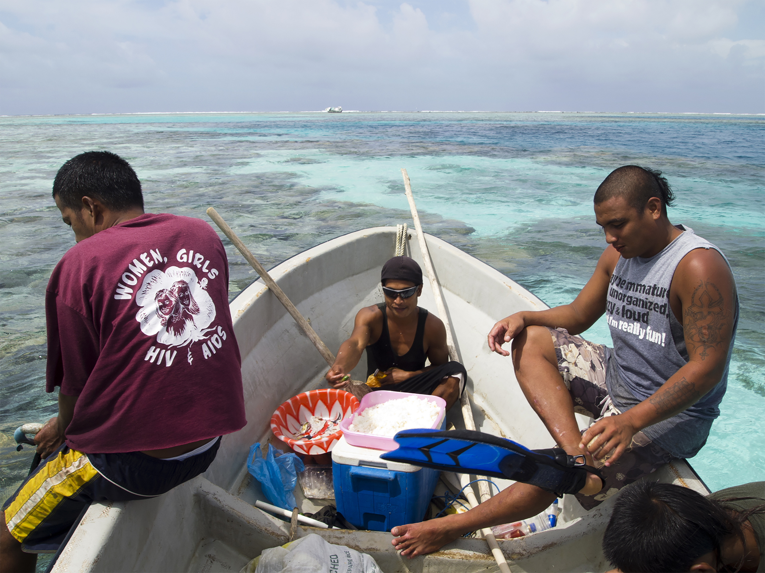 <p>Pirates are another threat that Micronesian fishermen have to contend with.</p>
