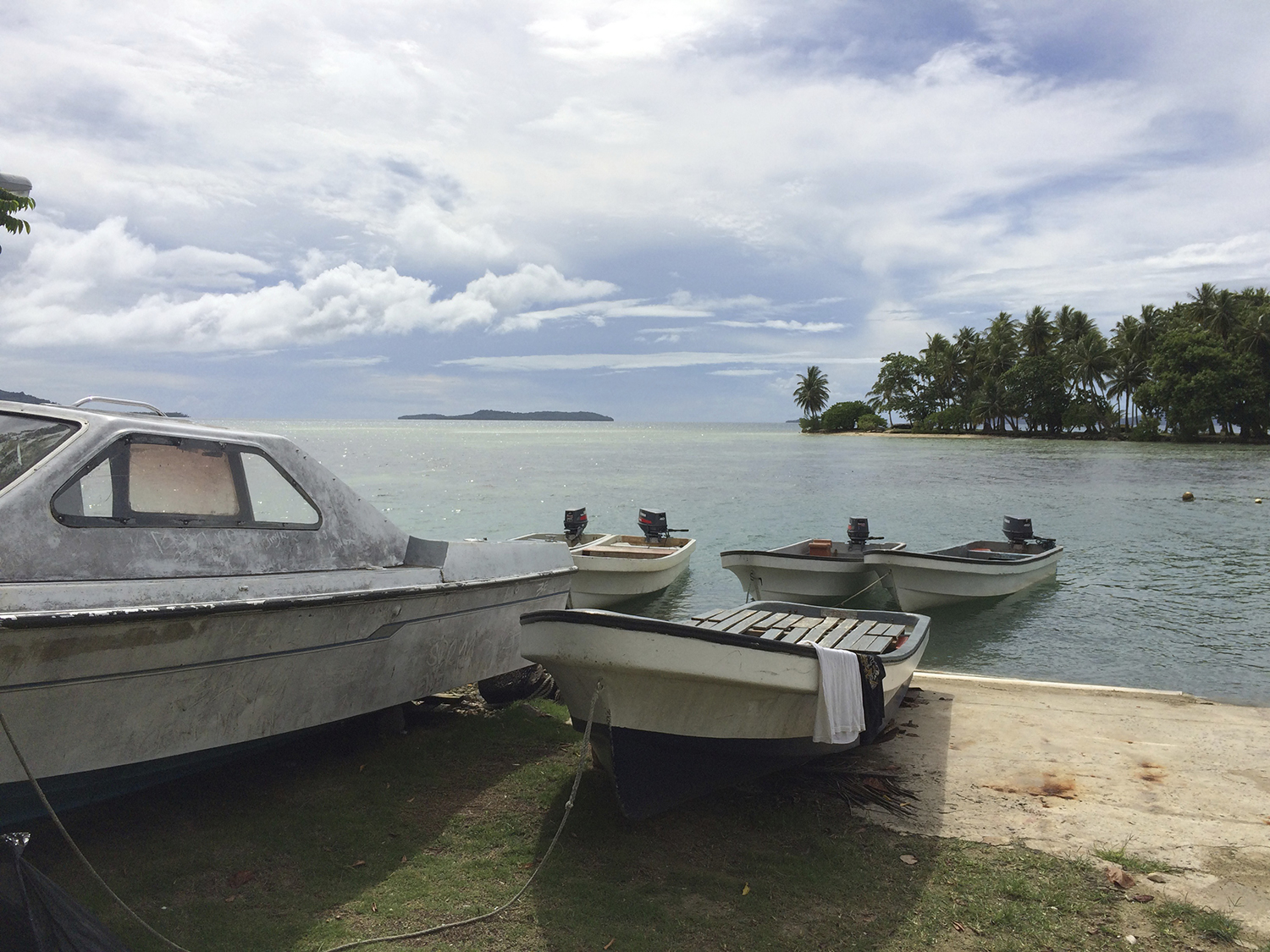 <p>Chuuk Lagoon is home to a world-class dive resort because of its warm, clear waters and the presence of dozens of sunken ships from the Japanese fleet in World War II.</p>