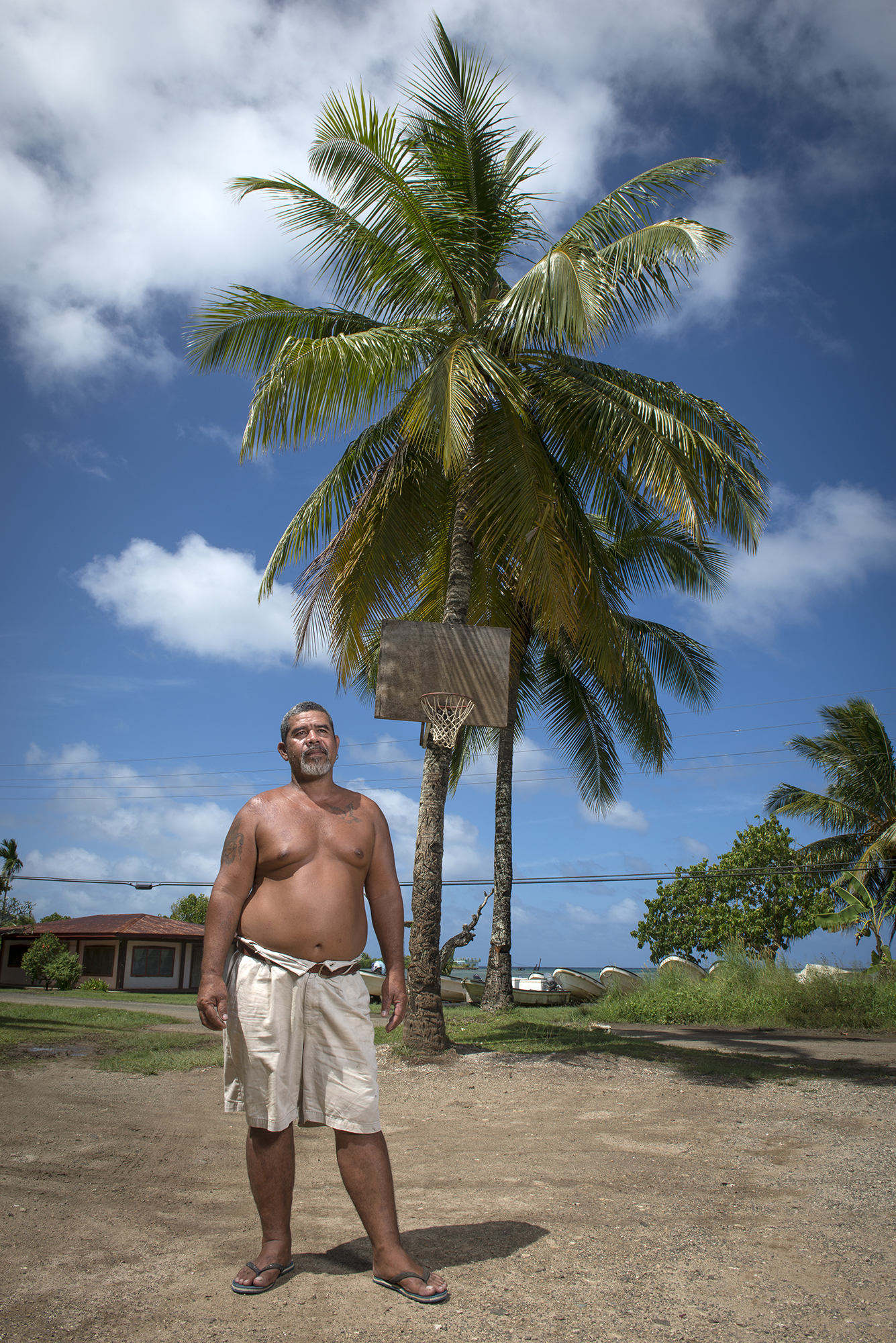 <p>Basketball — typically the outdoor variety — is popular throughout Micronesia.</p>