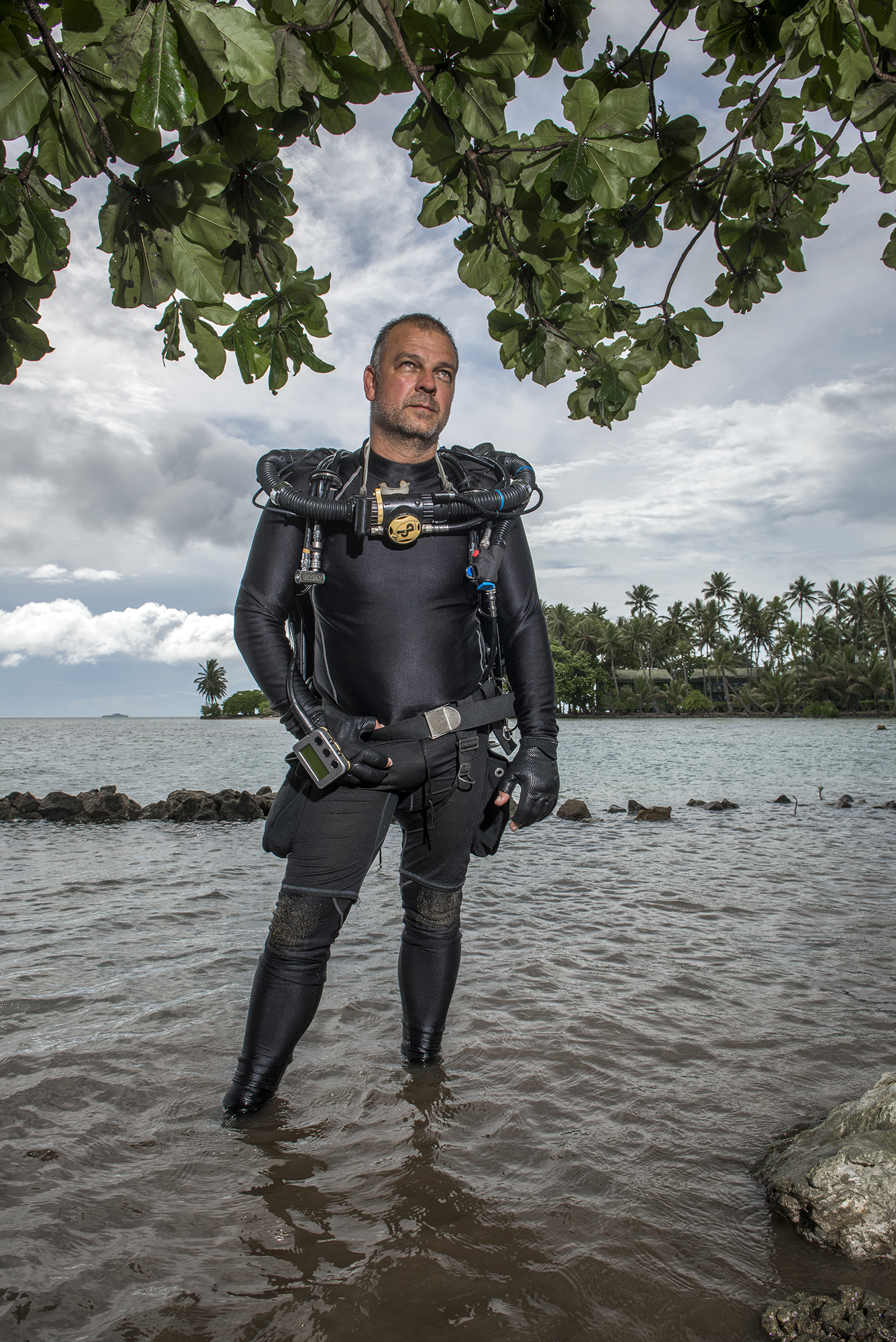 <p>Pete Mesley, who often leads tours to the Blue Lagoon Resort, operates a company called Lust4Rust. He'd like to see improvements made to Chuuk's infrastructure to help expand tourism.</p>