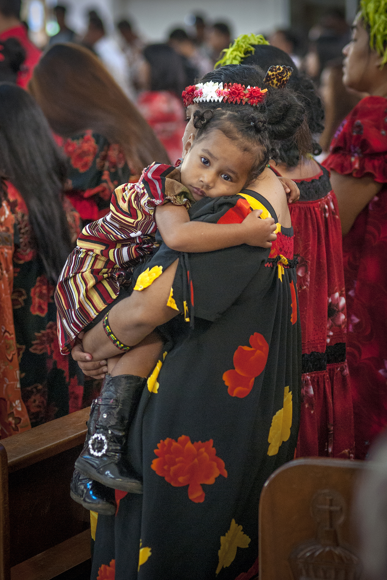 <p>Churches are central to the families and culture of Micronesians who organizeservices in whatever community they settle.</p>