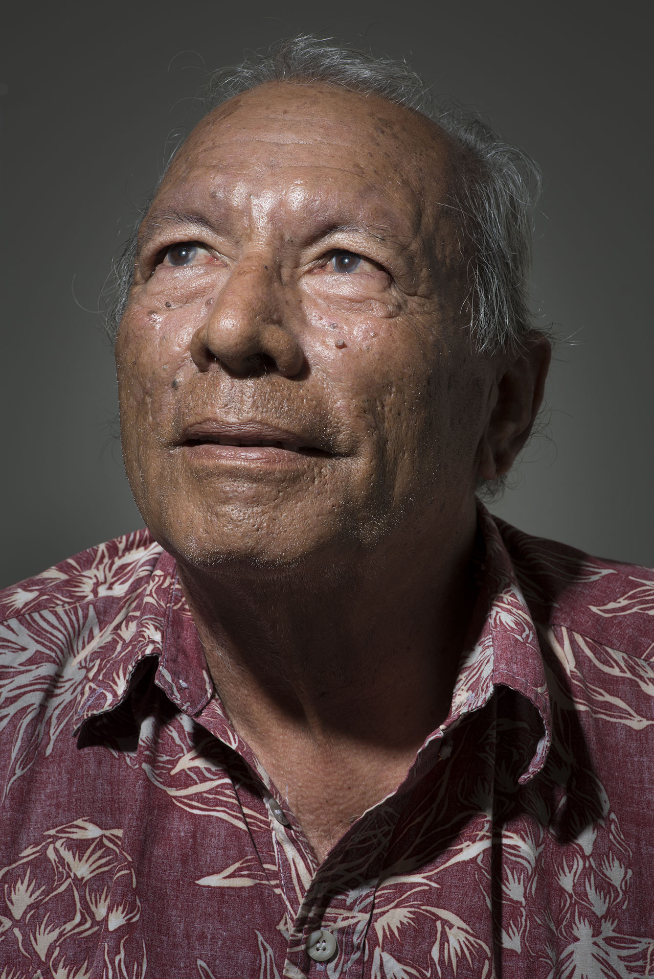 <p>Andy Bill, a Bikinian living on Majuro, helps distribute government payments to his fellow islanders.</p>