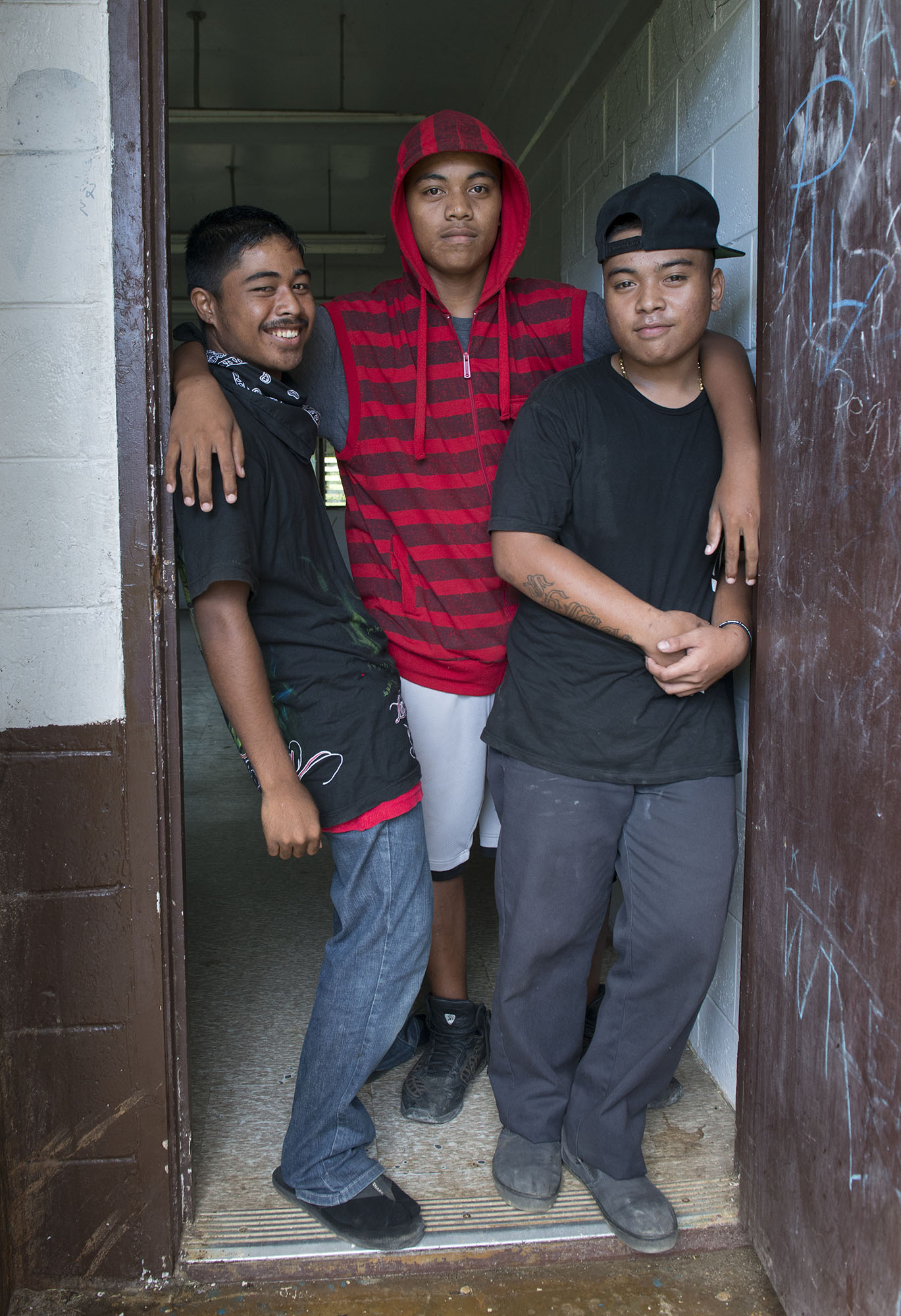 <p>Students at Chuuk High School look like they could easily fit in at many American schools, and if the out-migration continues, they may get their chance.</p>