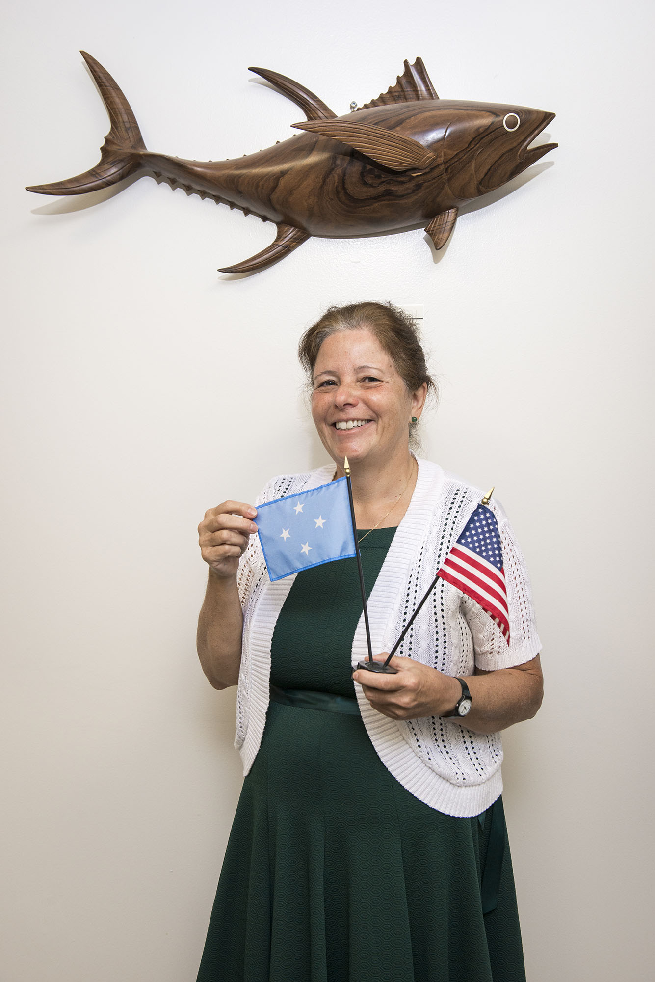 <p>Doria Rosen is the U.S. ambassador to the Federated States.The embassy is located on Pohnpei.</p>
