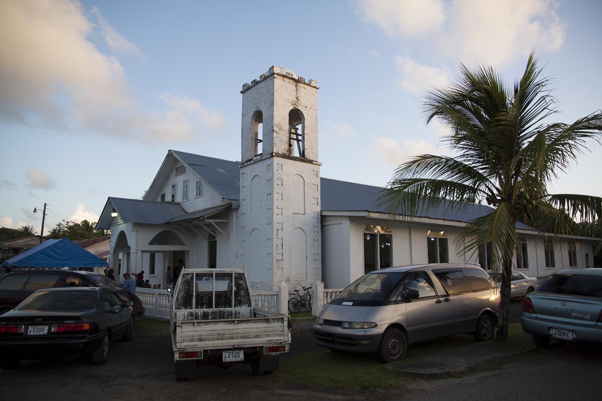 <p>The historic Lelu Church. Faith is central to Micronesians.</p>