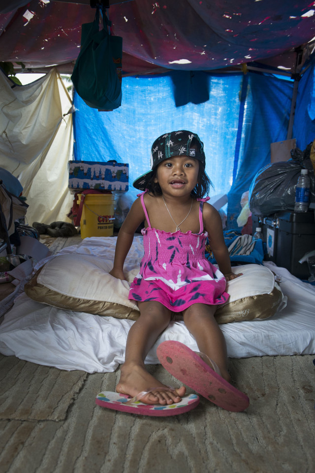 Born in Chuuk, Emichan and her family are among the hundreds of Micronesian immigrants who have ended up homeless in Hawaii, many in Kakaako.