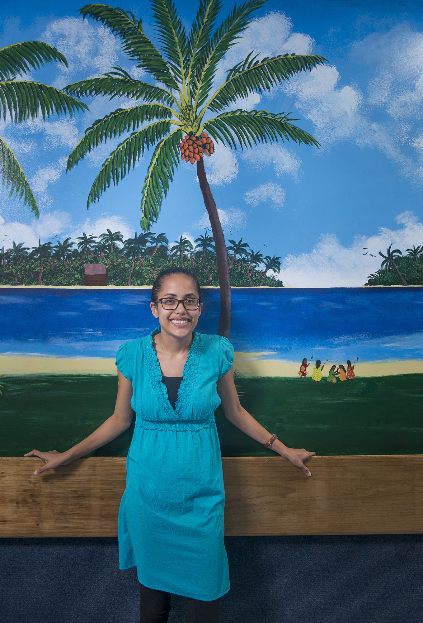 <p>Kathy Jetnil-Kijiner, a poet and professor at the College of the Marshall Islands on Majuro, has written about the threat of global warming to her islands and racism toward Micronesians in Hawaii.</p>