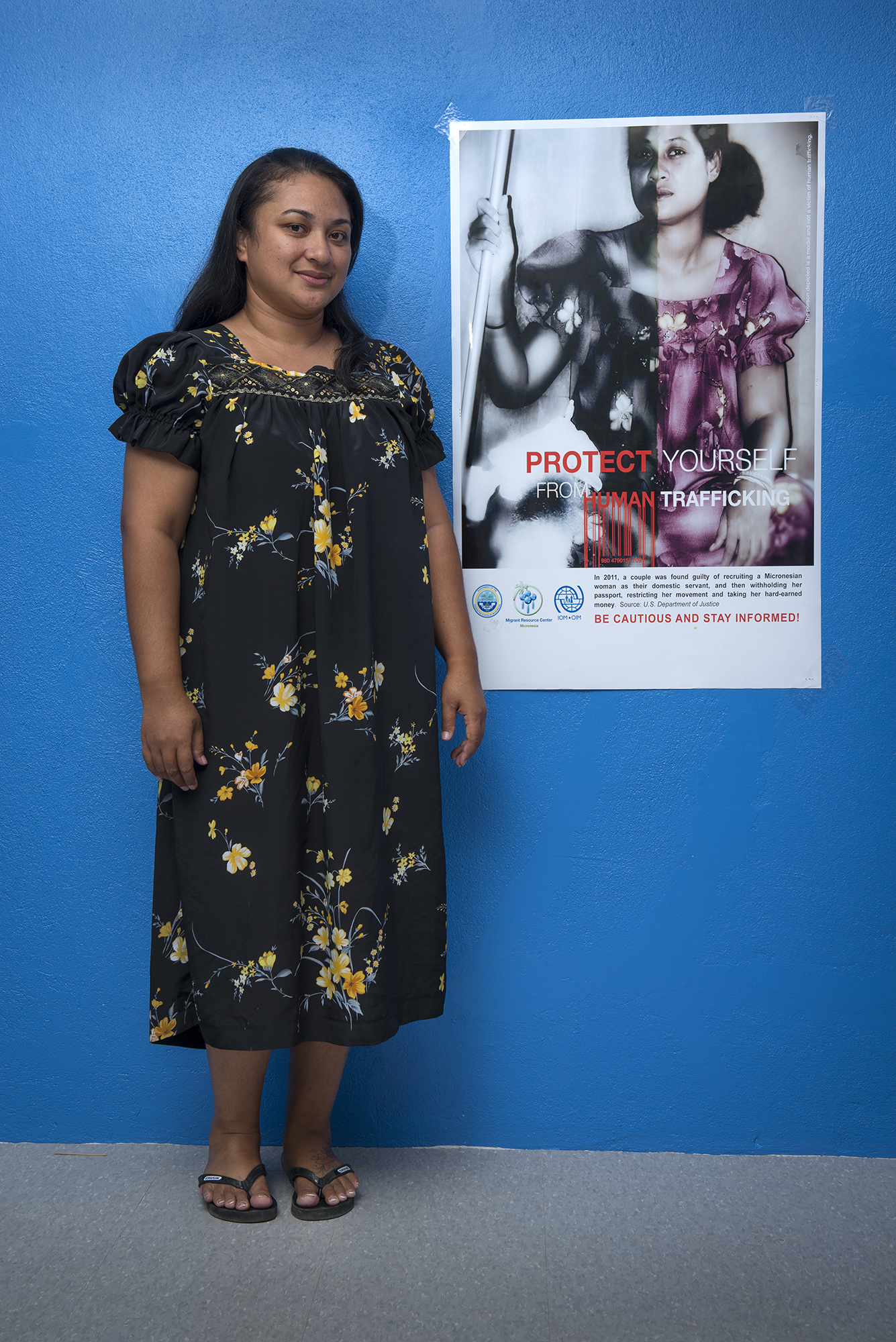 <p>Jennifer Killon heads the Migrant Resource Center in Chuuk, which helps prepare Chuukese to leave for the U.S. and its territories. One concern is to make sure Chuukese migrants are aware of the danger of getting caught up in human trafficking.</p>