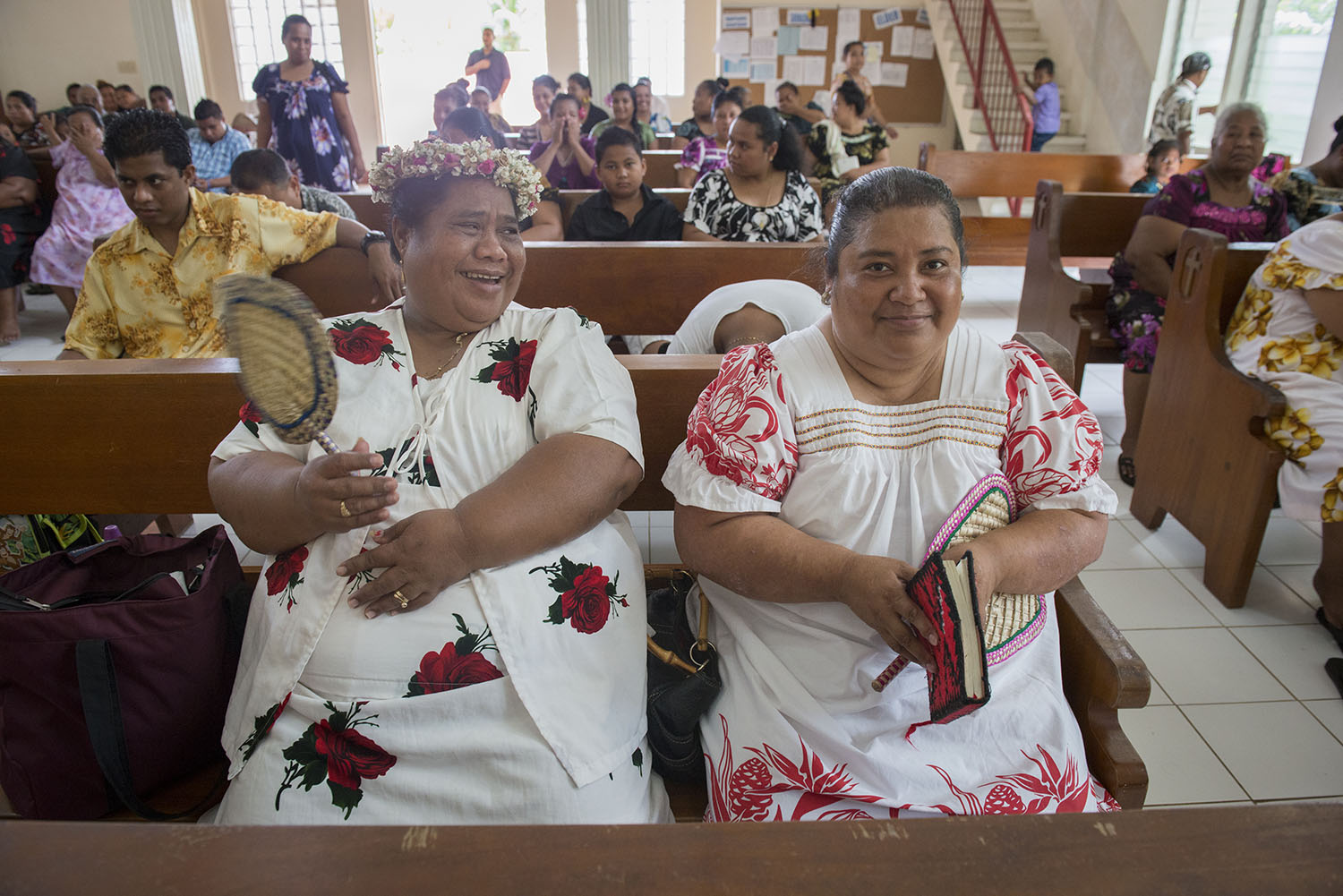 <p>Mwalok Church is part of the United Church of Christ. It's a popular place of worship on Pohnpei.</p>