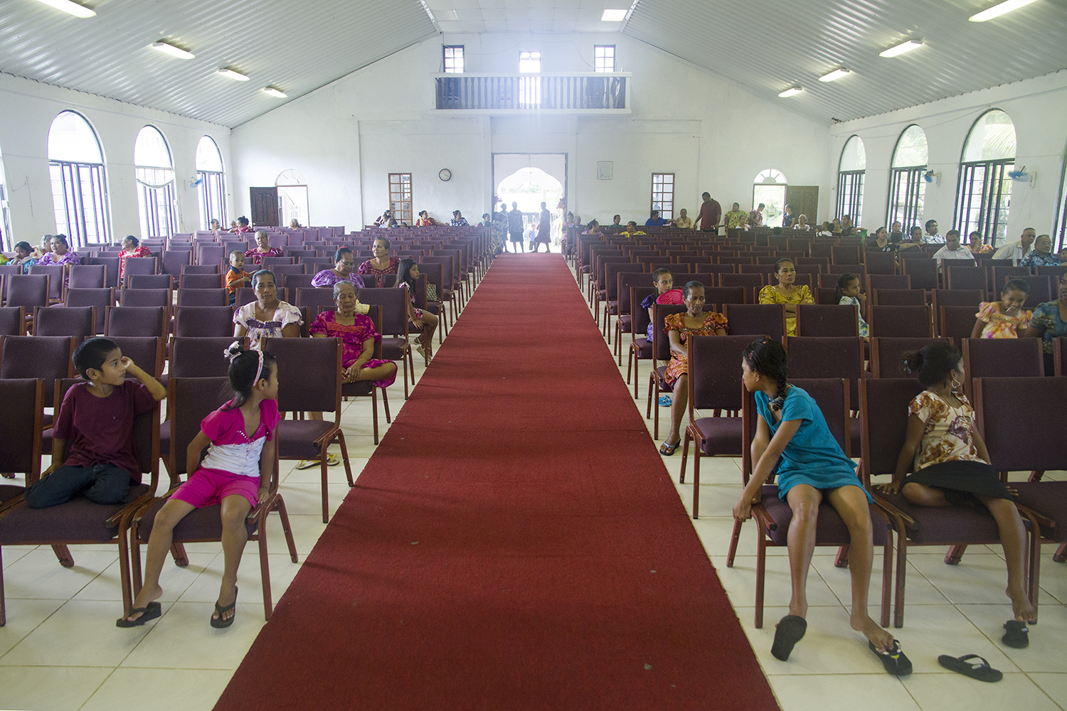 <p>A Protestant church in Malem. Just about every Christian denomination can be found in Micronesia.</p>