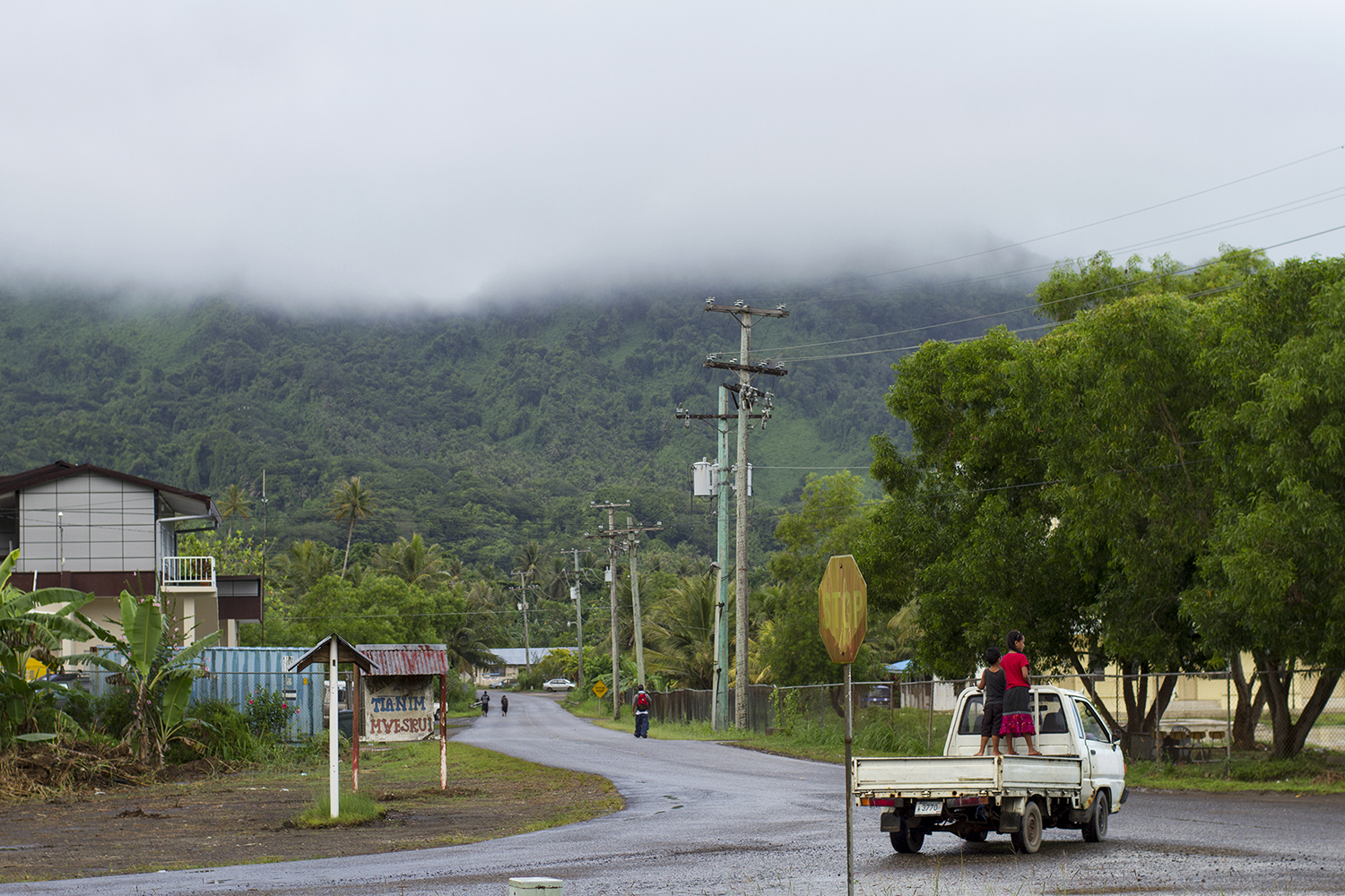 <p>Tofol, the city center of Kosrae, is part of the Federated States.</p>
