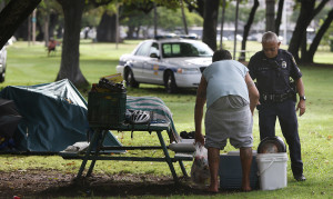 Lawmakers Consider 'Mobile Court' For Homeless Defendants