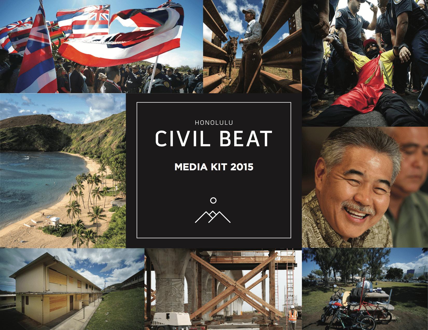 Civil Beat Media Kit 2015