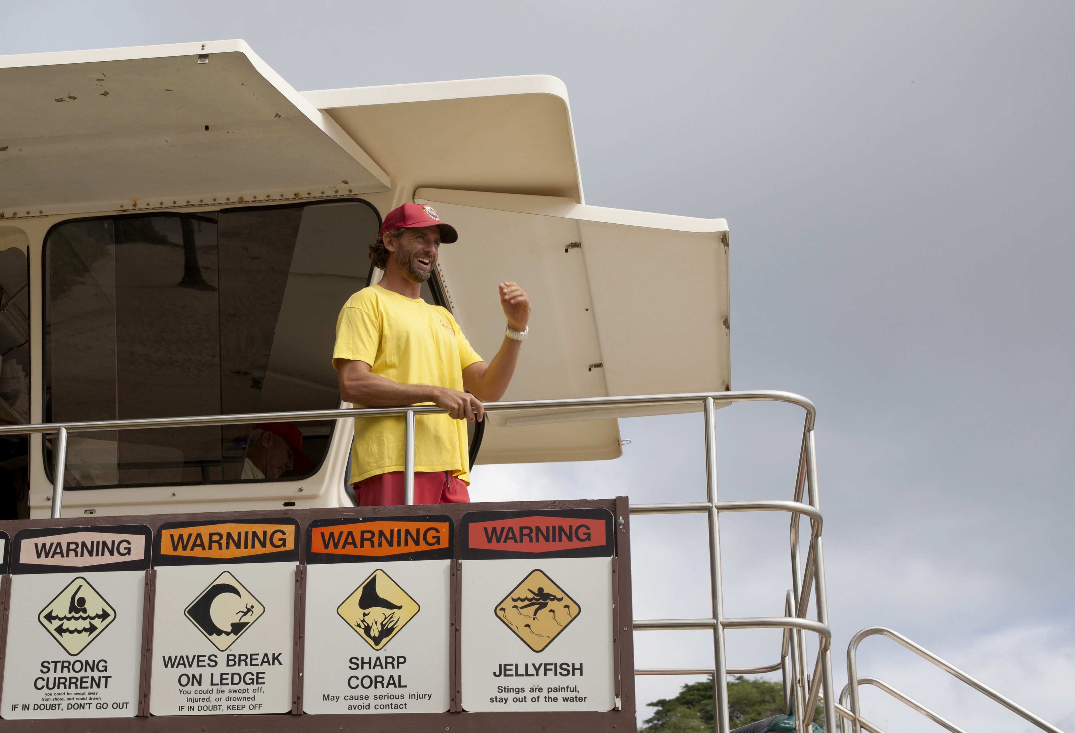 <p>Lifeguard Josh Guerra says he rescues two to six people a day at Hanauma Bay, a mecca for Hawaii&#8217;s most deadlytourist activity: snorkeling.</p>