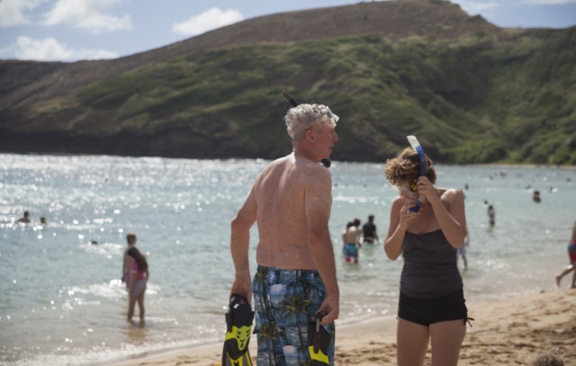 dead tourist snorkeling hanauma bay