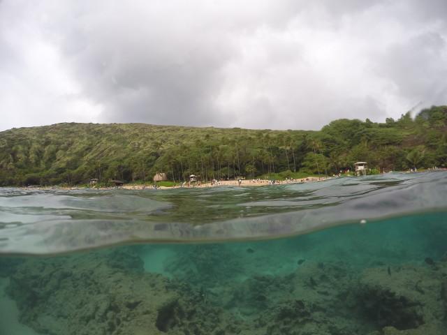 Hanauma Bay.