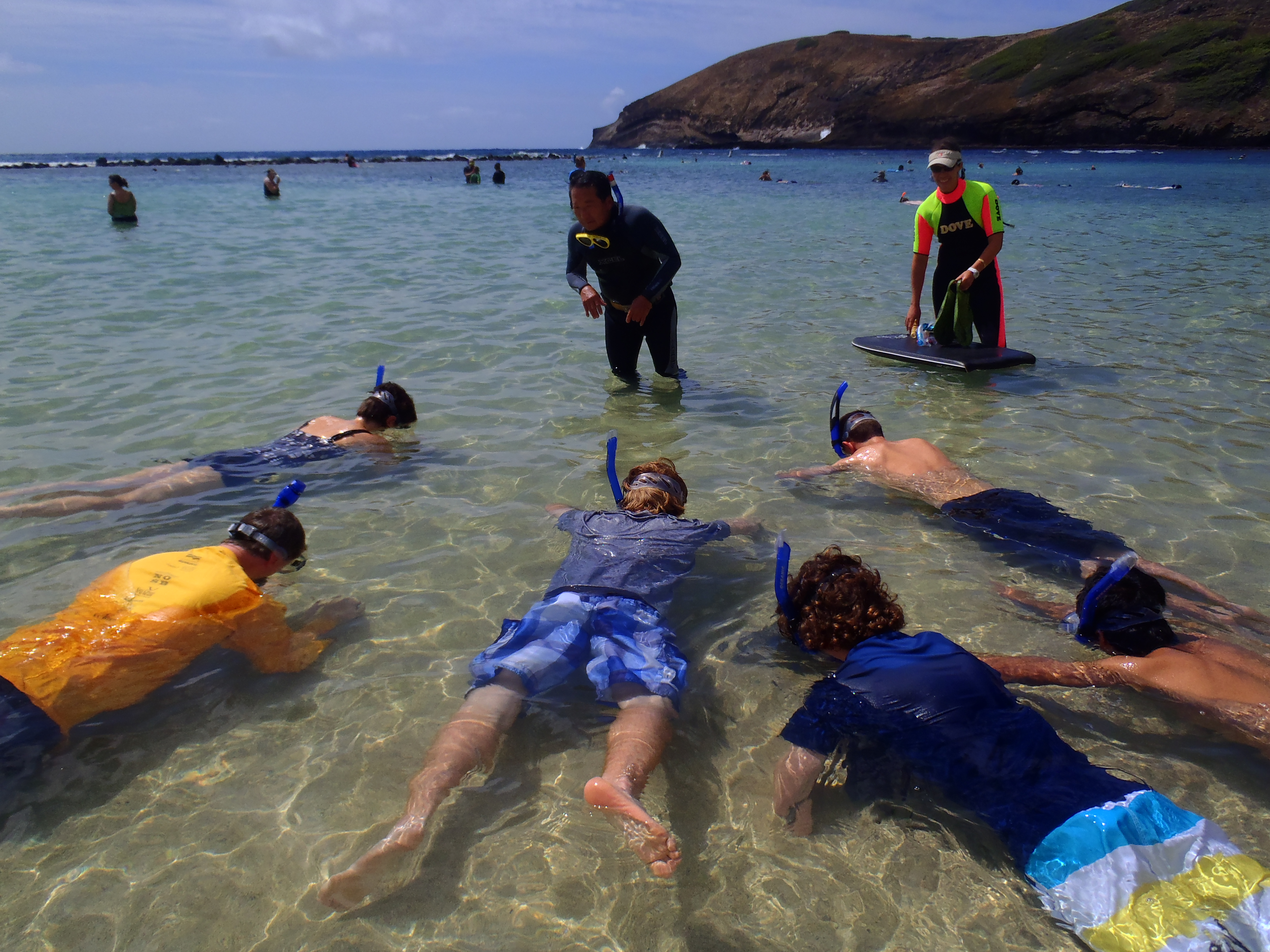 <p>Alan Hong teaches people how to snorkel at Hanauma Bay, where being male, in your 50s or 60s, and having pre-existing heart conditions are common traits among drowning victims.</p>