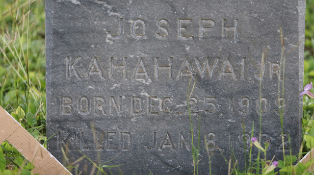 Puea cemetery kapalama kalihi, location of the Massie murder graveyard Joseph Kahahawai jr. 4 jan 2016. photograph Cory Lum/Civil Beat