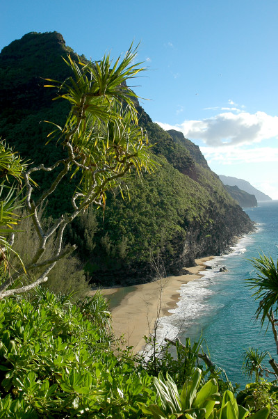 Hanakapiai Beach on Kauai is one of the remote, unguarded beaches that now has rescue tubes.
