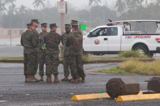 The search for the two downed helicopters and any survivors went on for several days, with recovery operations taking over Haleiwa Beach Park on the North Shore.