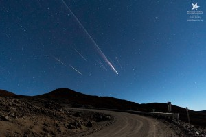 Perfectly Timed Photos Capture 'Orbital Fireworks' Over Hawaii