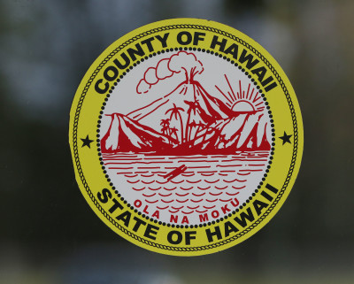 County of Hawaii State of Hawaii seal