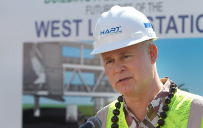 HART Executive Director Dan Grabauskas west loch waipahu ground breaking ceremony