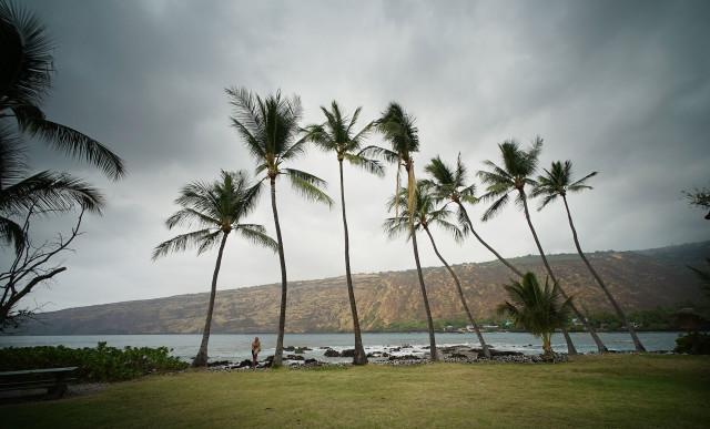Manini Beach KealaKekua Bay Kona Hawaii island1