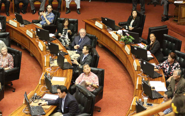 Legislature House Session. Rhoads Luke