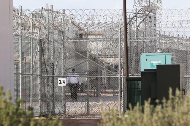 Saguaro Correctional Center, Eloy, Arizona patrol. 6 march 2016. photograph Cory Lum/Civil Beat