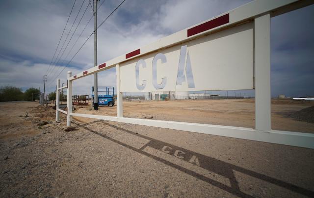 Saguaro Correctional Center, Eloy, Arizona patrol. 5 march 2016. photograph Cory Lum/Civil Beat