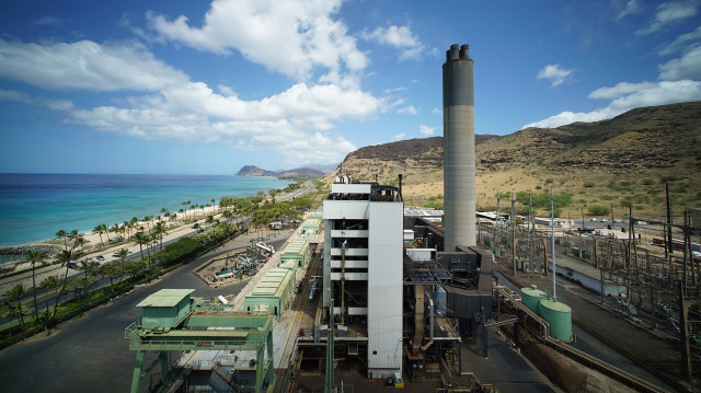 HEI Kahe power plant wide waianae coast1. 14 april2 2016.