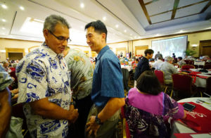 Aiona Endorses Djou For Mayor