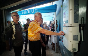 'Historical Moment' With Solar Power Energy Storage System