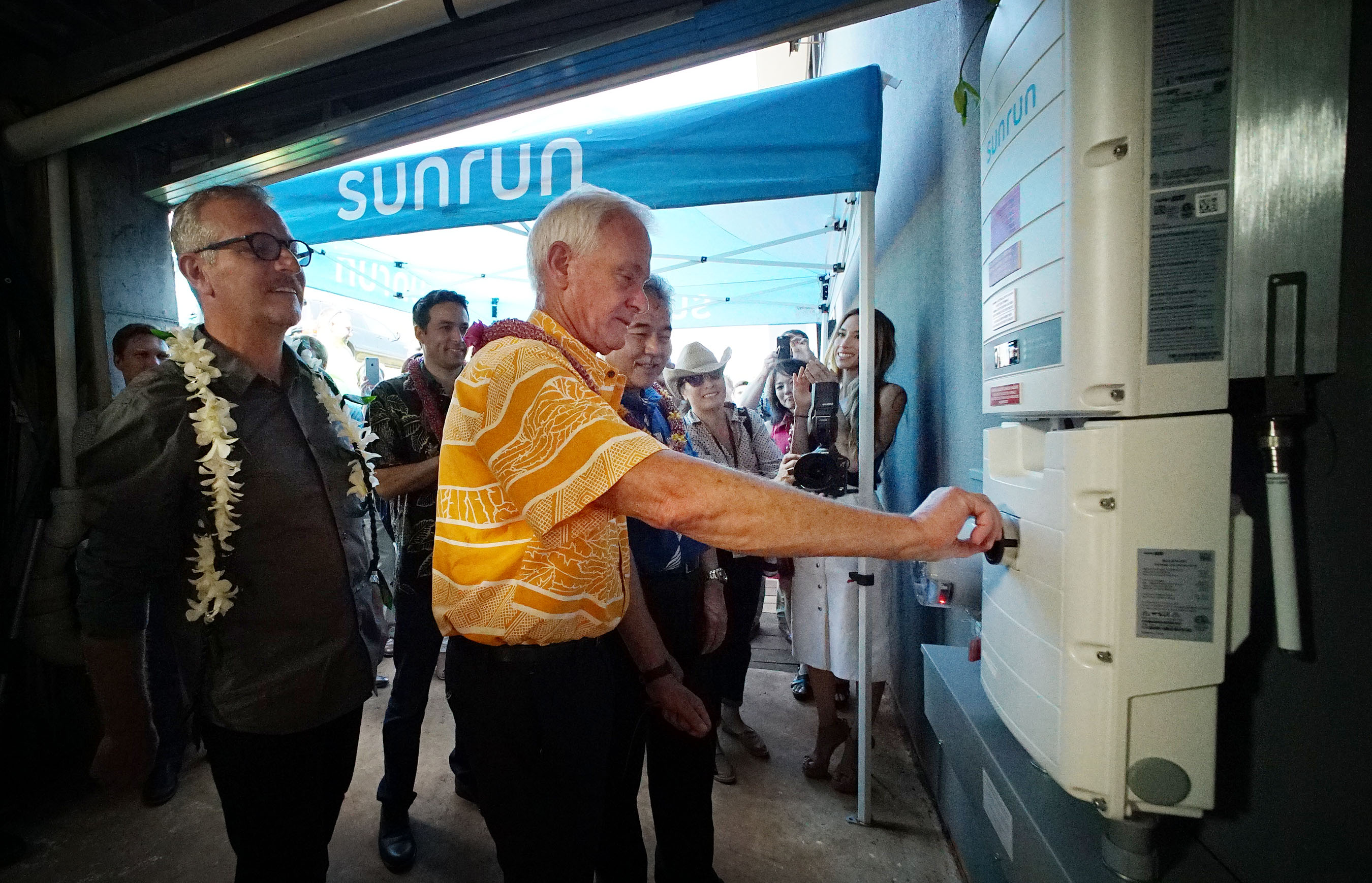Historical Moment' With Solar Power Energy Storage System