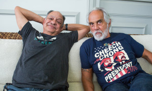 Cheech & Chong: Trump Is An 'Aptitude Test' For Voters