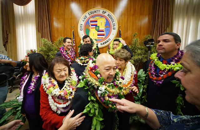 2015 Honolulu city council file photo. 2 jan 2015