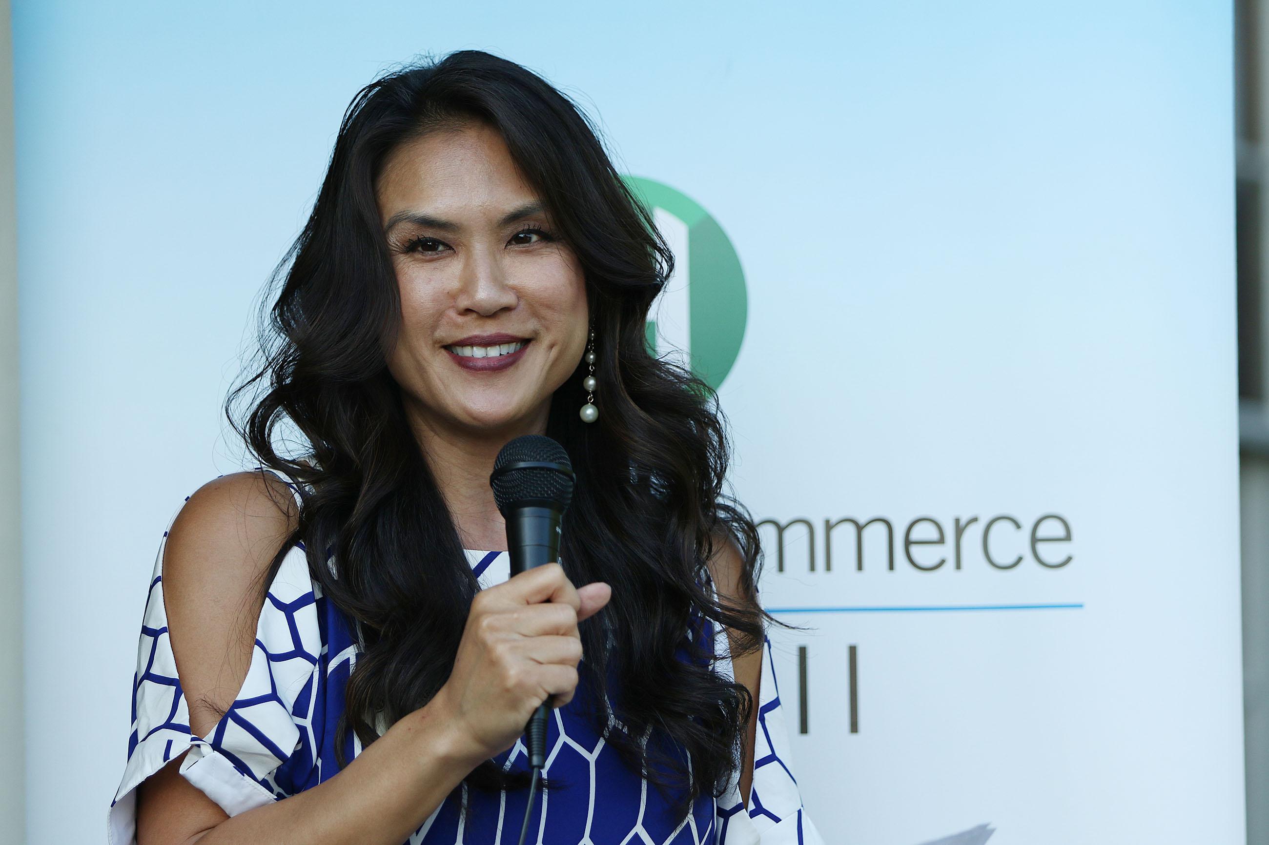 Chamber of Commerce Hawaii President CEO Sherry Menor-McNamara2. 7 june 2016.