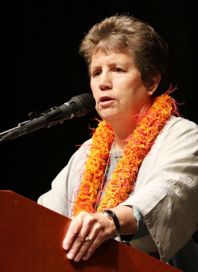 DLNR Chair Suzanne Case speaks Coral Symposium. 20 june 2016