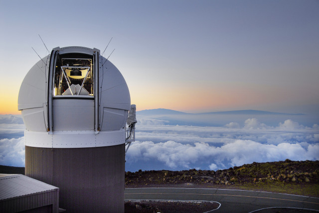 PS1 Observatory Mauna Kea. Courtesy photograph