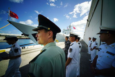 Chinese State Media Suggests Warships Will 'Soon' Sail Near Hawaii