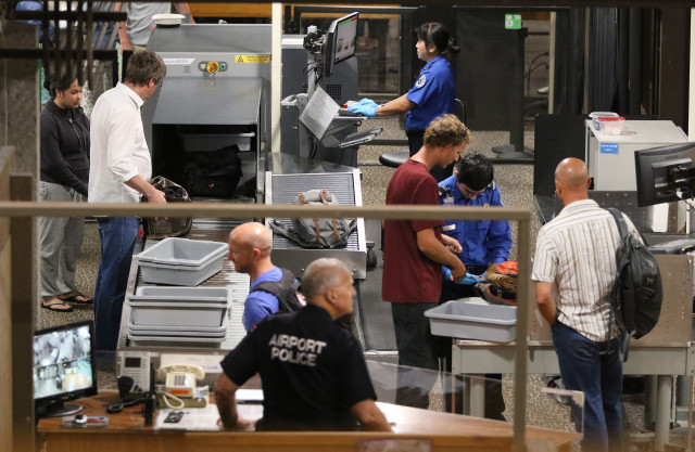 Hilo Airport Transportation Security Admin TSA. 16 july 2016